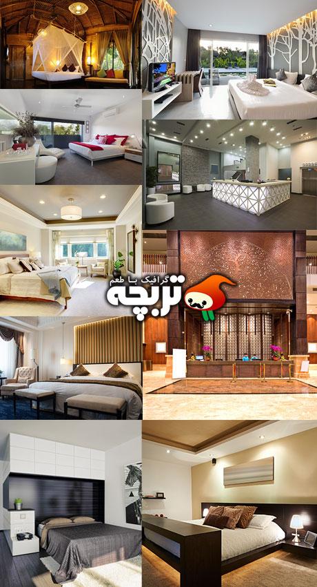 دانلود تصاویر استوک طراحی داخلی هتل Hotel Interior Design