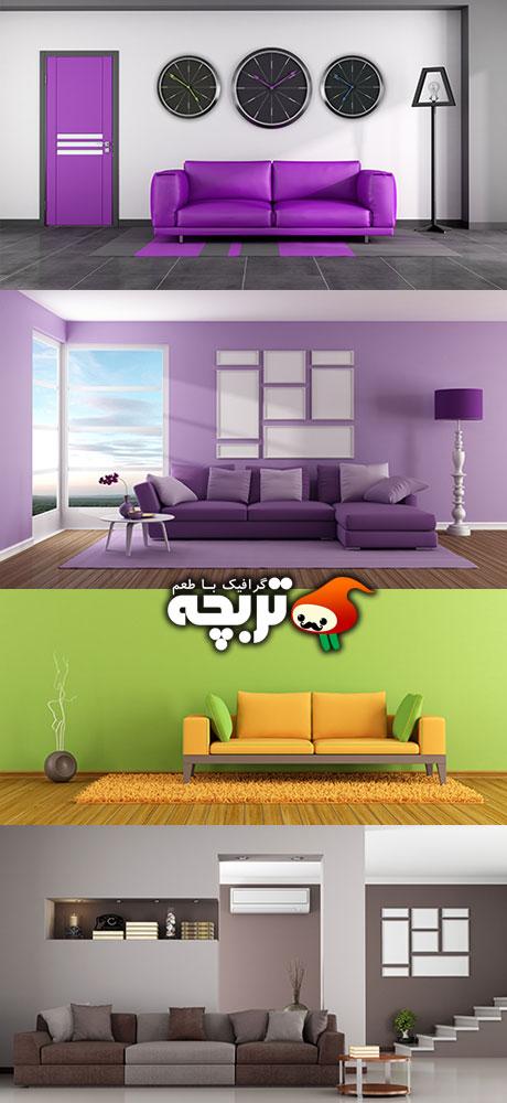 دانلود تصاویر با کیفیت طراحی داخلی Interior Design Stock Images 01