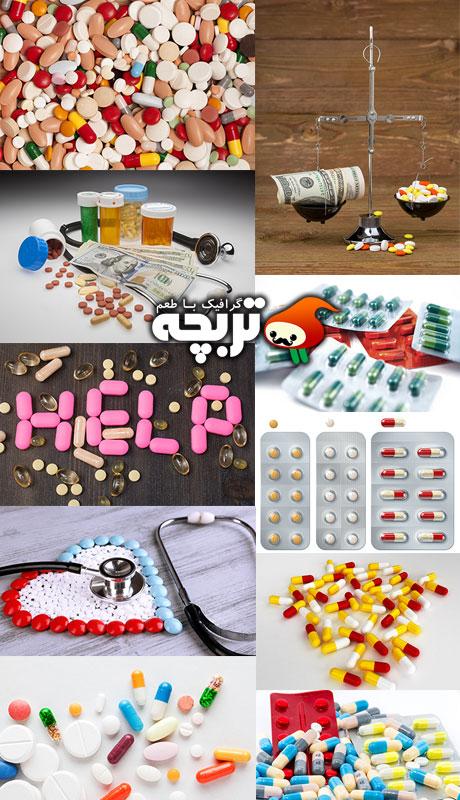 دانلود تصاویر با کیفیت با کیفیت قرص و دارو Pills ShuttersTock Images