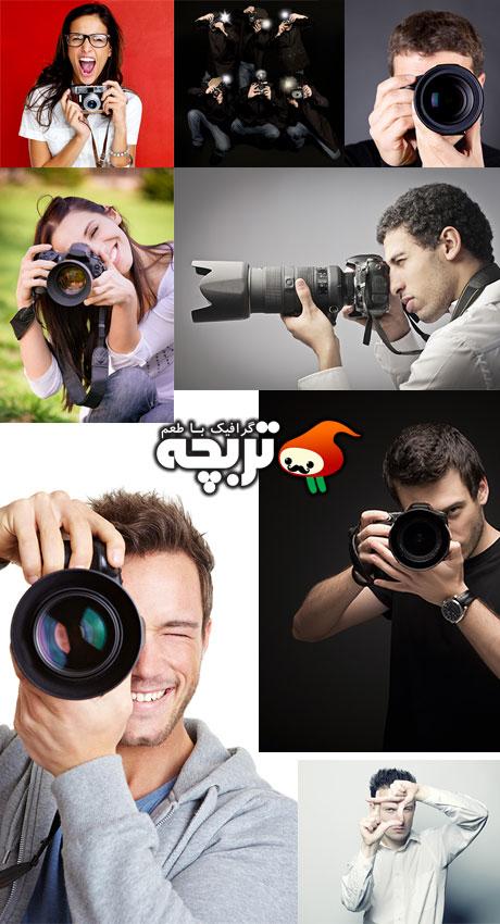 دانلود تصاویر با کیفیت عکاس حرفه ای Professional Photographer Stock Images