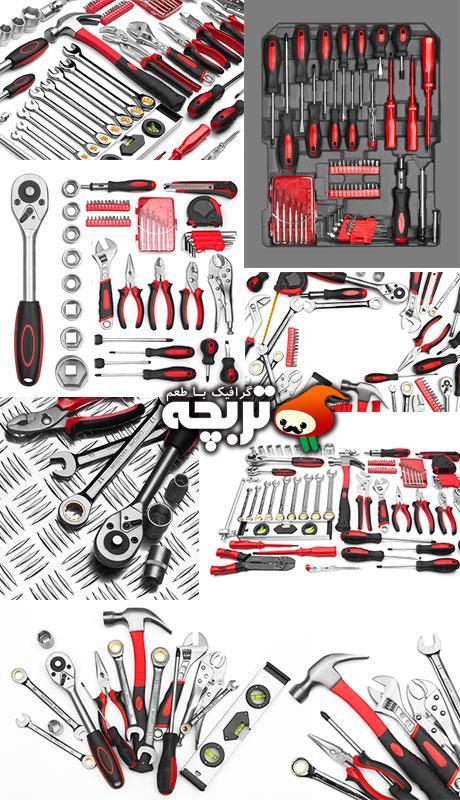 دانلود تصاویر با کیفیت ابزار آلات Tools Collection ShutterStock