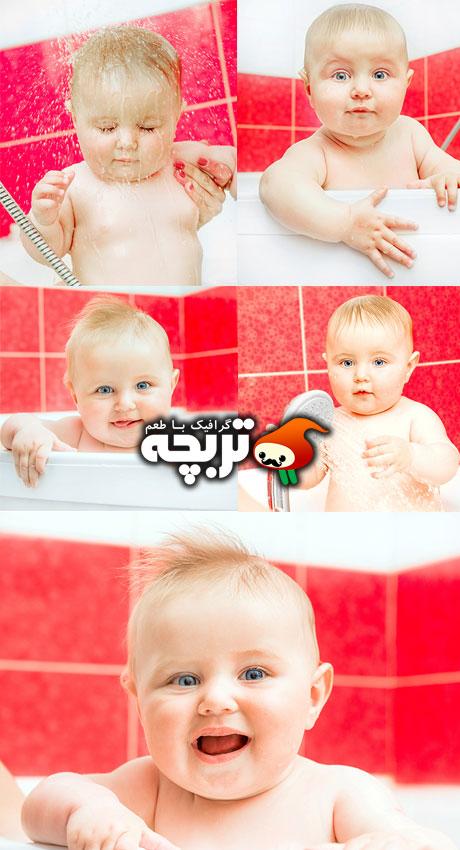 دانلود تصاویر با کیفیت کودک زیبا Beautiful Baby Stock Images