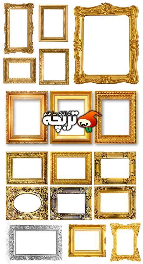 دانلود تصاویر با کیفیت قاب عکس Antique Frames ShutterStock