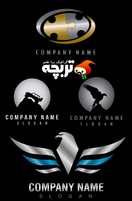 دانلود لوگوی نام شرکت Company Name Logo
