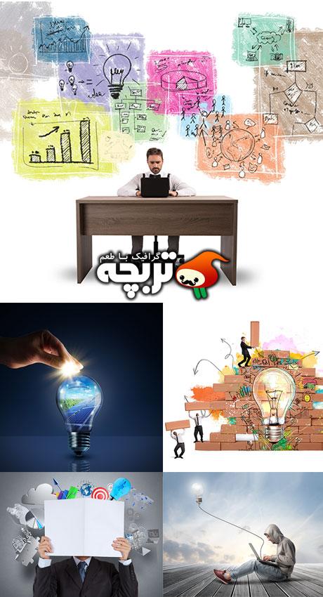دانلود تصاویر با کیفیت تجارت خلاقانه Creative Business Stock Photos