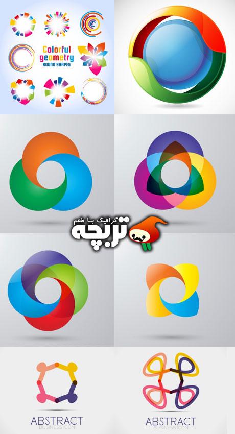 دانلود مجموعه لوگوهای انتزاعی  Abstract Logo Design
