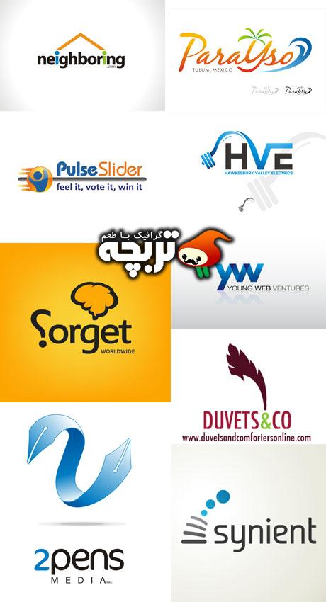 مجموعه لوگوهای خلاقانه Creative Logo Design 1