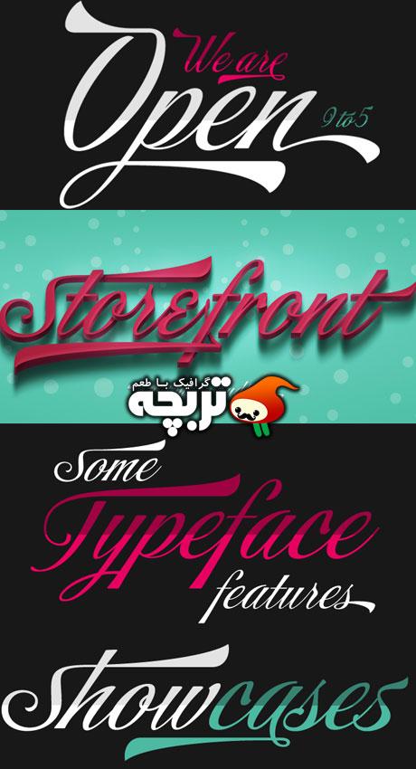 دانلود فونت انگلیسی Store Font