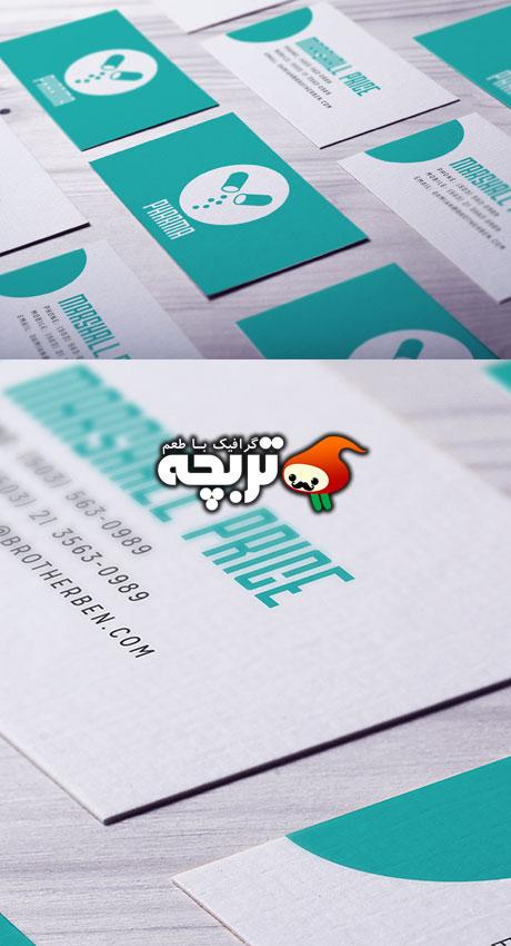 دانلود طرح لایه باز پیش نمایش کارت ویزیت - BusinessCard Mockups
