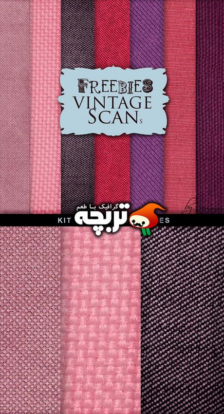دانلود تکسچر بافت پارچه ای – Cloth Textures Set