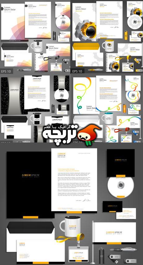 دانلود وکتور ست اداری - Corporate Identity Vectors 05