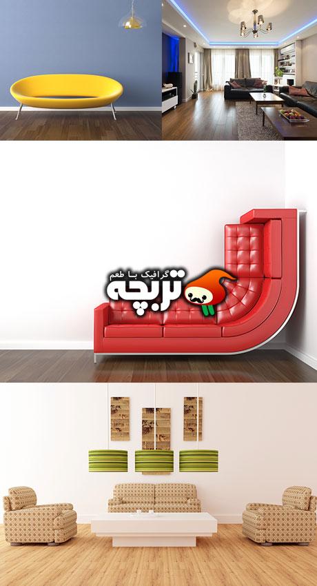 دانلود تصاویر با کیفیت طراحی داخلی - Interior Design Stock Photos