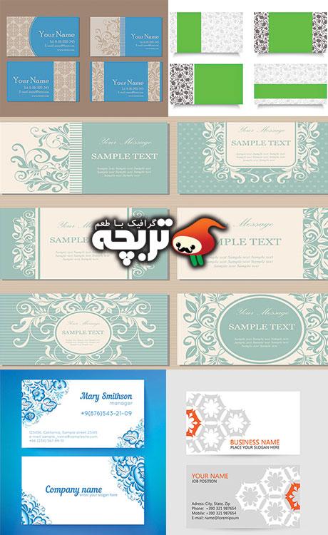 وکتورهای کارت ویزیت Business Card Vectors