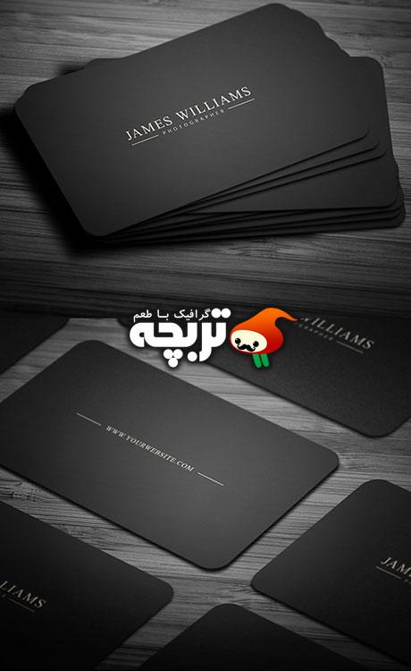 طرح لایه باز کارت ویزیت Business_Card_PSD