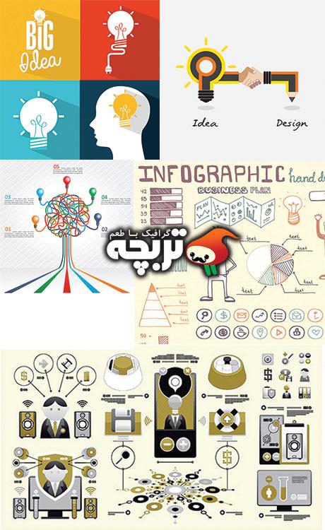 وکتورهای مفهمی کسب وکار Business_concept_design