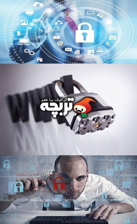 Internet_Security_Photo تصاویر با کیفیت امنیت شبکه
