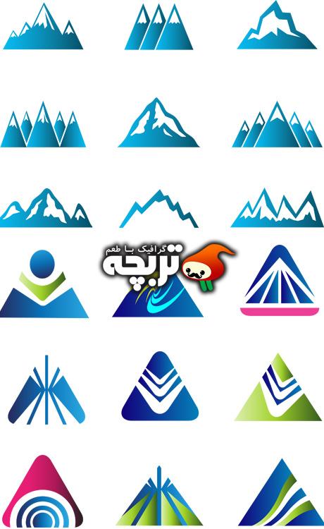 تصاویر وکتور های انتزاعی لوگو Abstr Logo Vector