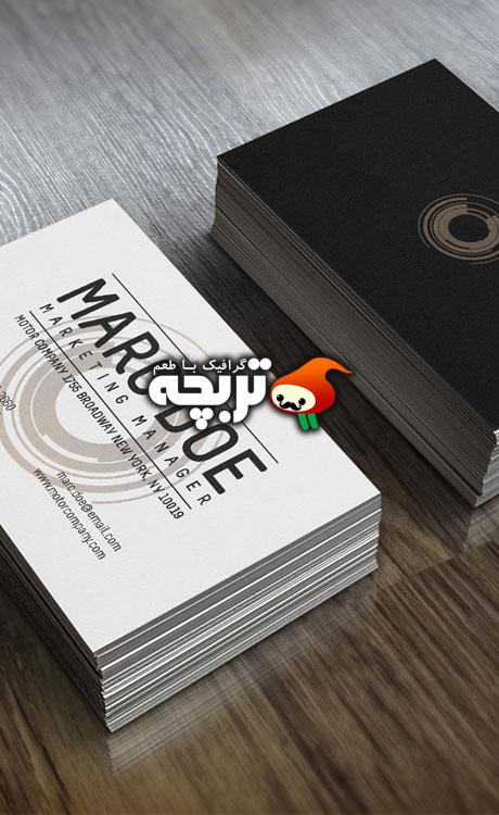 طرح لایه باز کارت ویزیت Business Card
