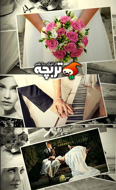 دانلود پروژه افتر افکت اسلایدشو عکس عروسی – Wedding Photos Slideshow