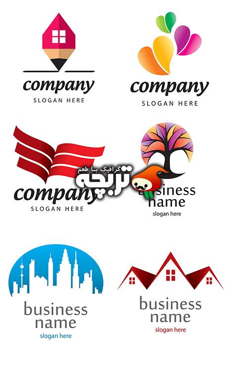 دانلود وکتورهای خلاقانه لوگو Creative Logo Template Vector
