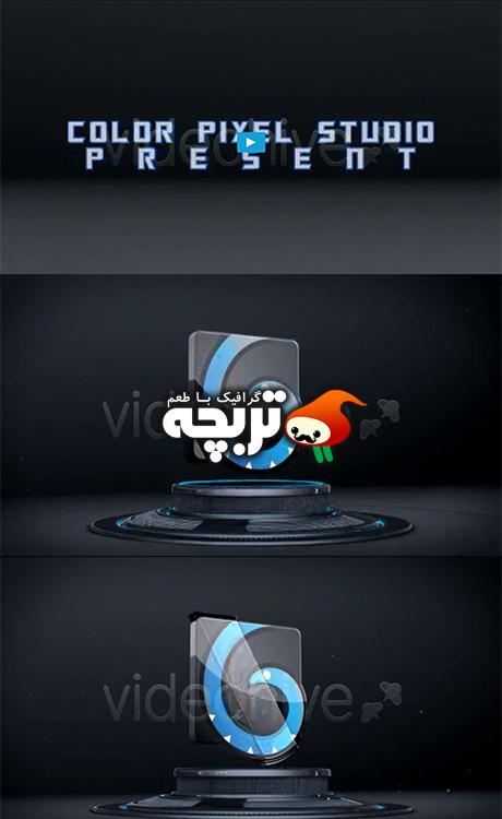 دانلود پروژه افتر افکت نمایش لوگو سه بعدی  3D Logo on Stage