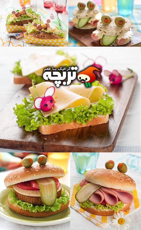 دانلود تصاویر با کیفیت ساندویچ های لذیذ Delicious Sandwiches Stock Photos