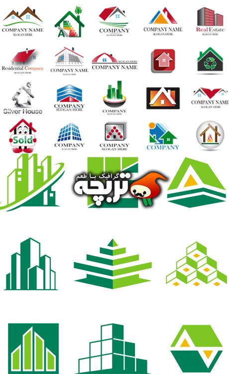 دانلود وکتور های لوگو املاک Estate logo Vector