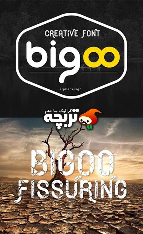 دانلود فونت انگلیسی و خلاقانه Bigoo TureType