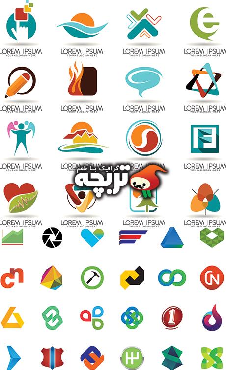 دانلود وکتور های لوگو آماده – Logo Tp St