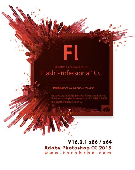 دانلود نسخه جدید نرم افزار فلش سی سی - Adobe Flash Professional CC 2014 v14.2 x64