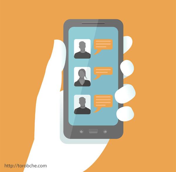وسایل هوشمند و شبکه های اجتماعی