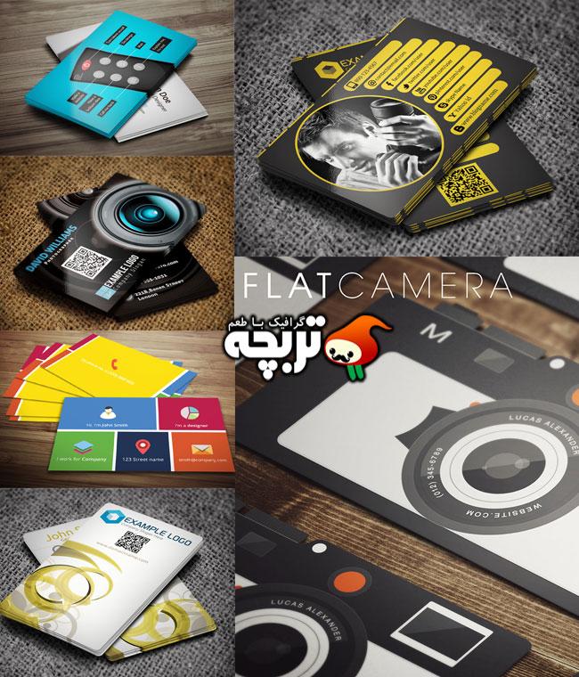 ۱۲ ایده ی طراحی کارت ویزیت خلاقانه Creative businessCard Design 1
