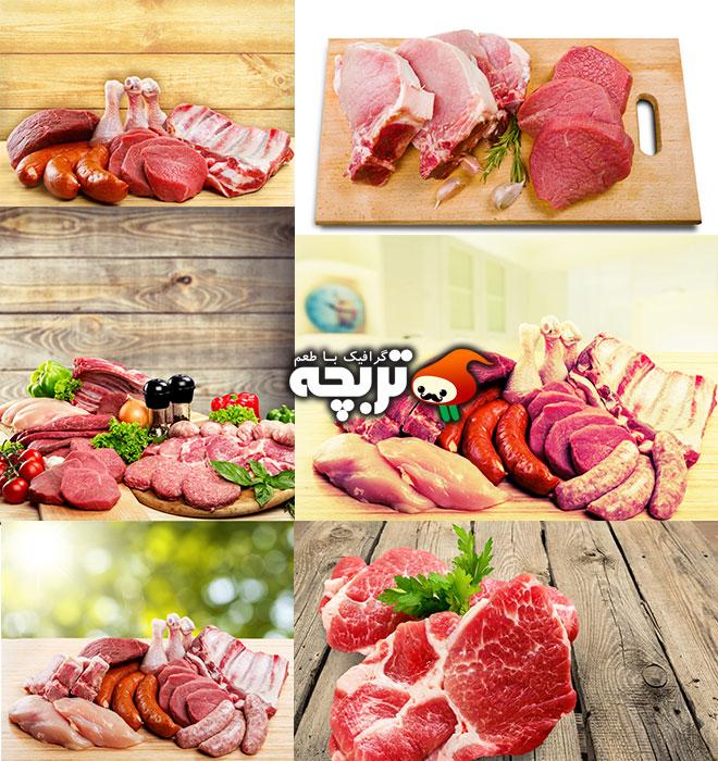 دانلود تصاویر با کیفیت گوشت Meat Shutter Stock