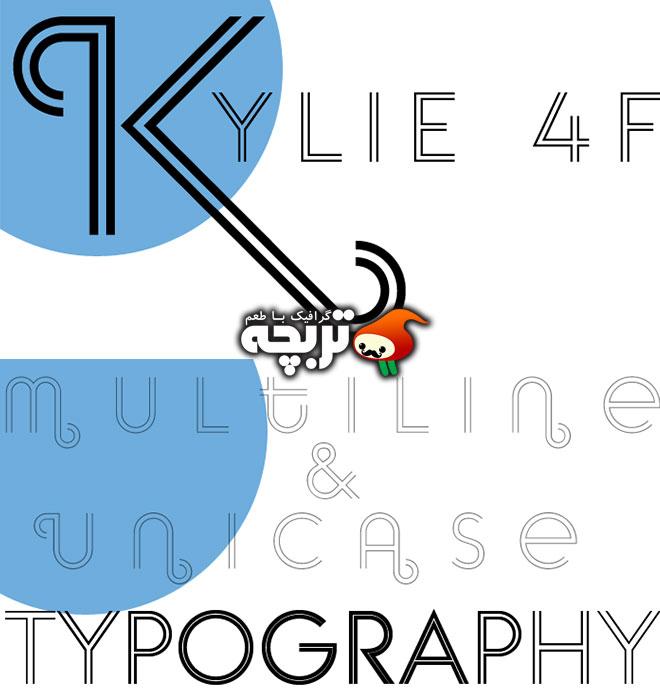 دانلود فونت انگلیسی EM Kylie 4F