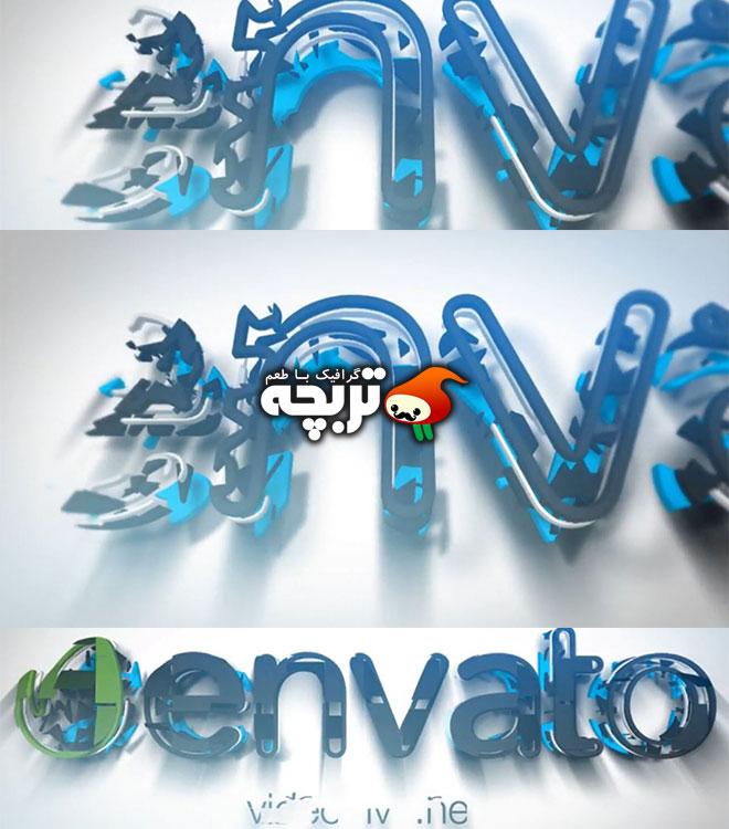دانلود پروژه افتر افکت نمایش لوگو ساخت و ساز Logo Construction