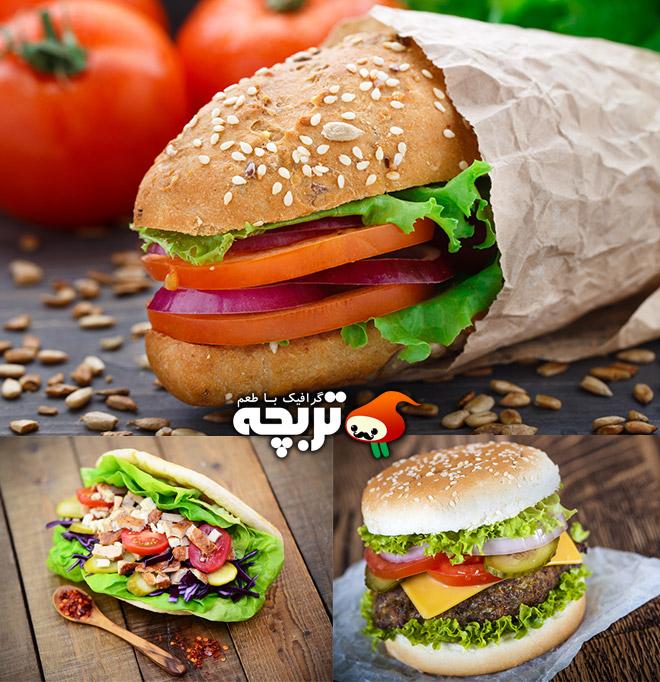 دانلود تصاویر با کیفیت ساندویچ از شاتراستوک