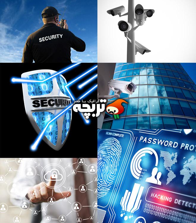 دانلود تصاویر با کیفیت امنیتی Security Stock Photos