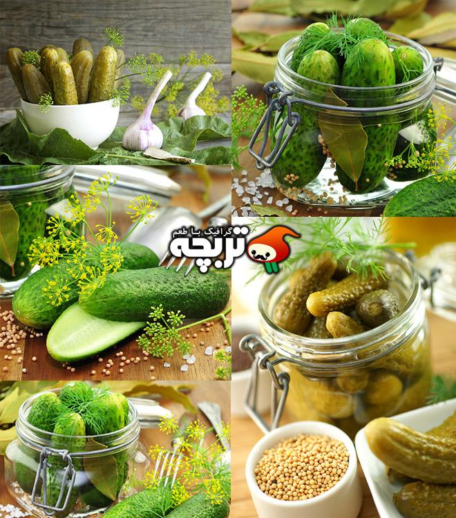 دانلود تصاویر با کیفیت خیارشور Pickles Stock Photos