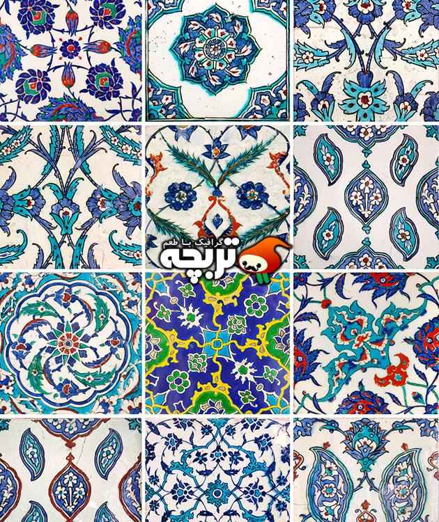 دانلود تصاویر کاشی کاری اسلامی با کیفیت