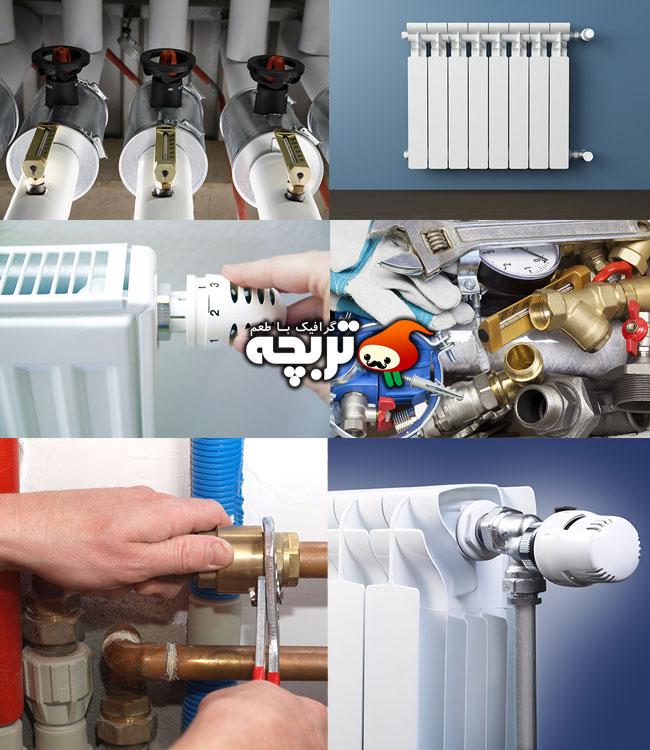 دانلود تصاویر سیستم گرمایشی با کیفیت بالا