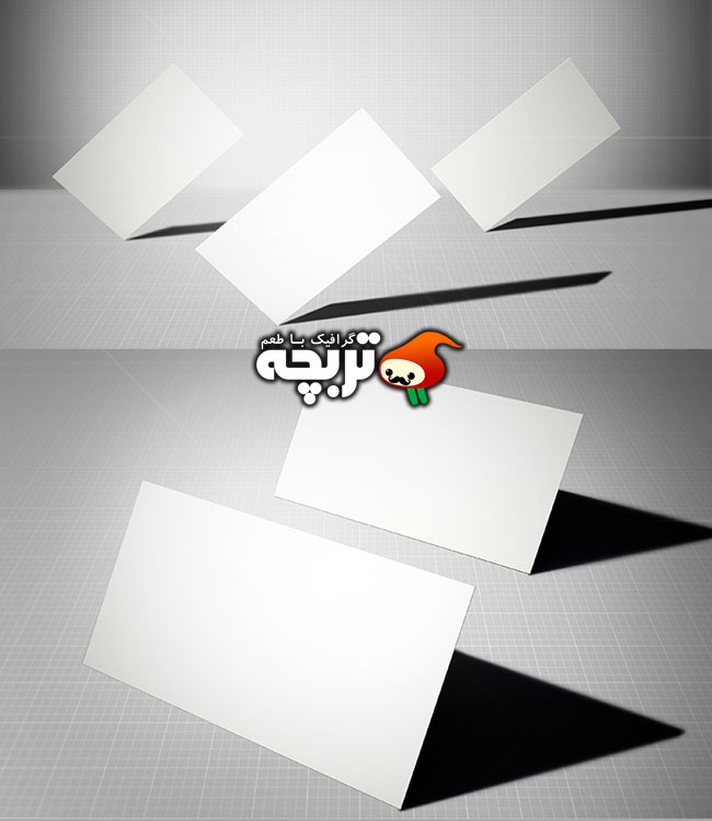 دانلود طرح لایه باز موک آپ کارت ویزیت