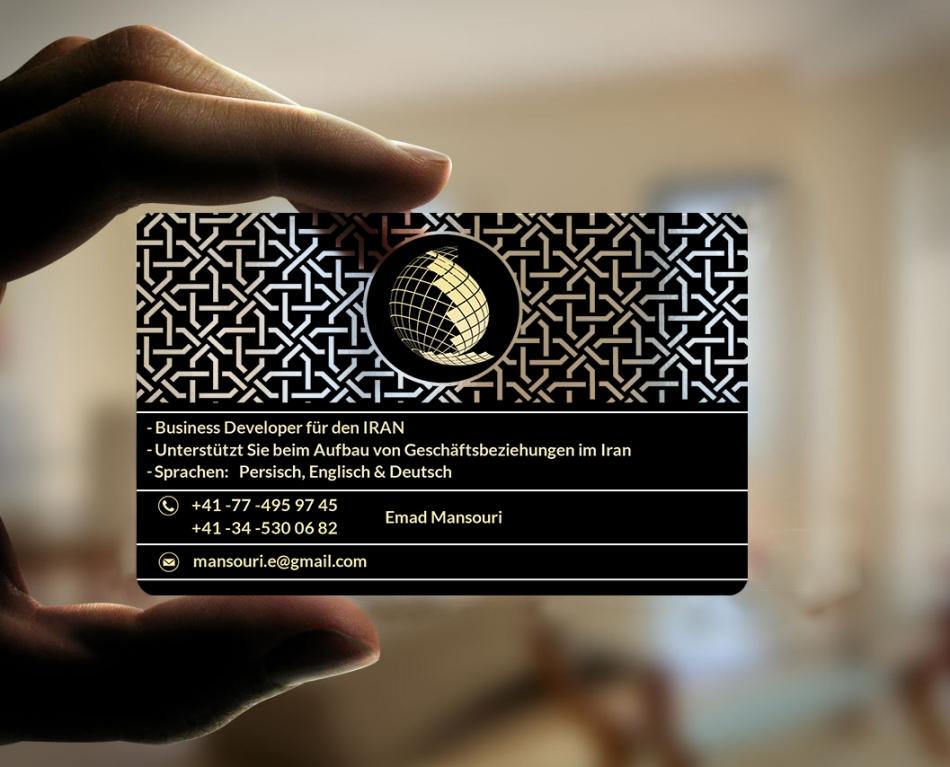 کارت ویزیت شرکتی - بهزاد احسانزاده