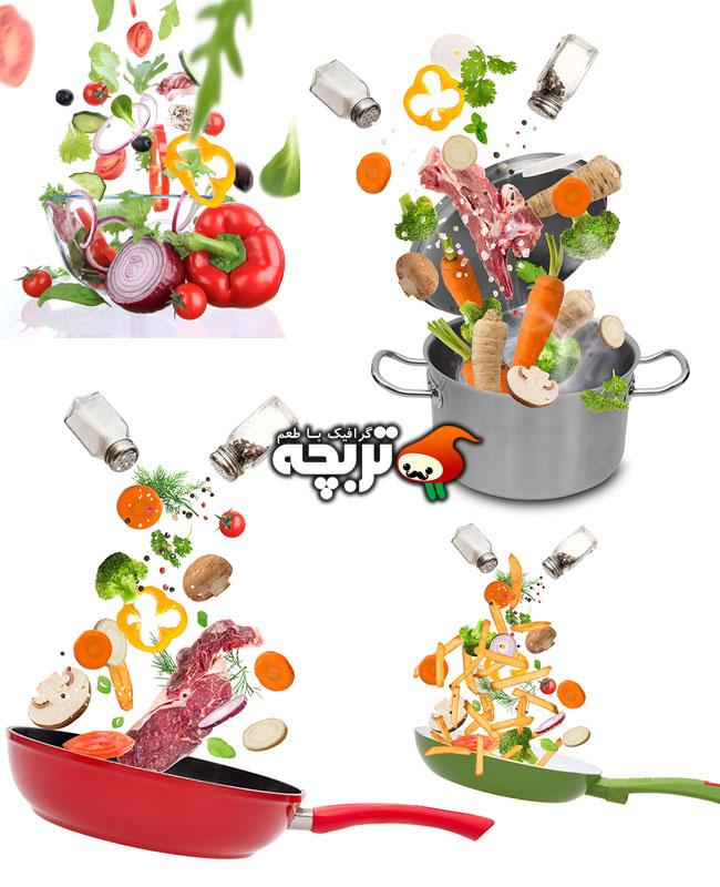 تصاویر با کیفیت غذای سبزیجات