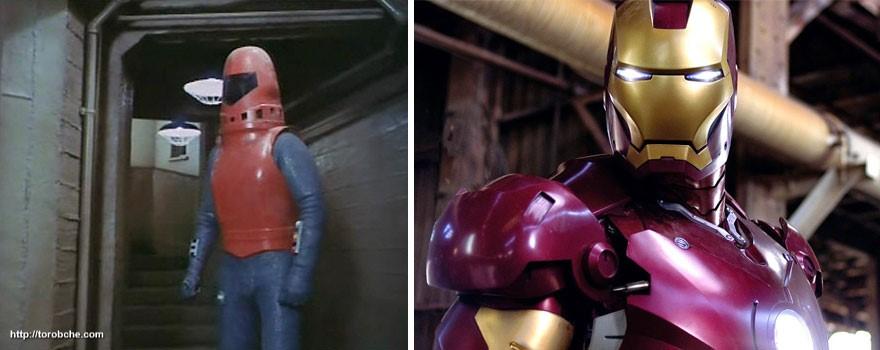 مرد آهنی سال 1977 و 2008