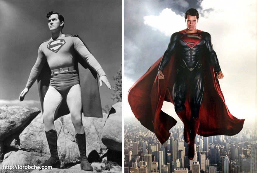 سوپرمن سال 1948 و 2016