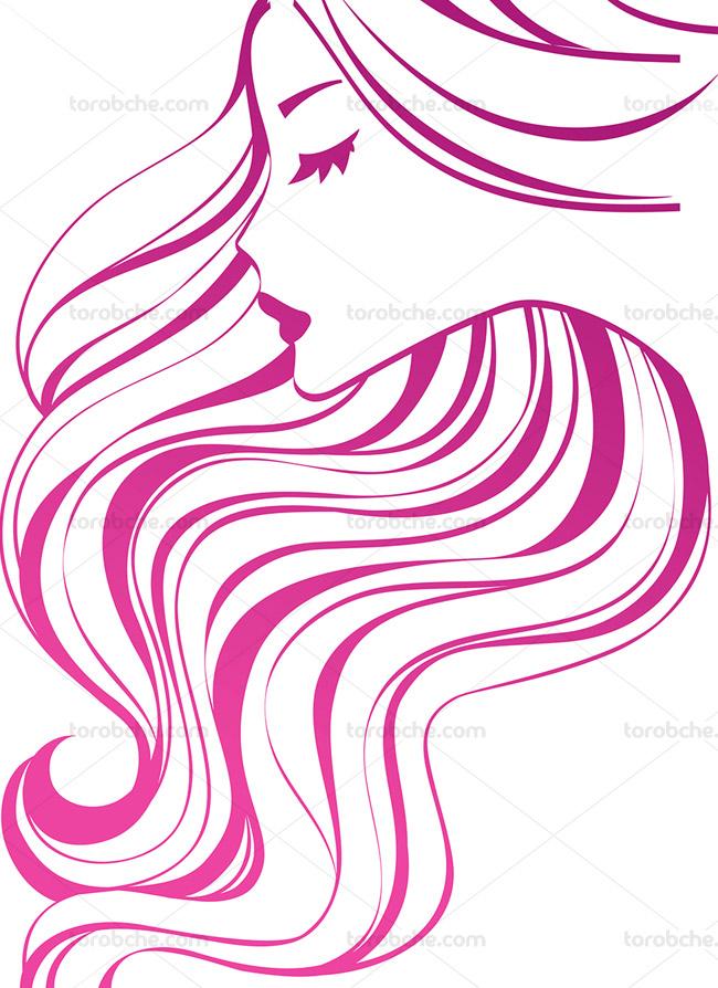 وکتور لوگوی سالن آرایشی و زیبایی بانوان