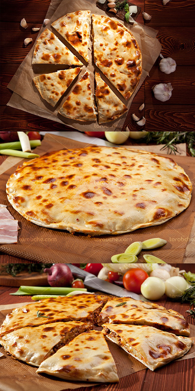 تصاویر با کیفیت پیتزا کالزون