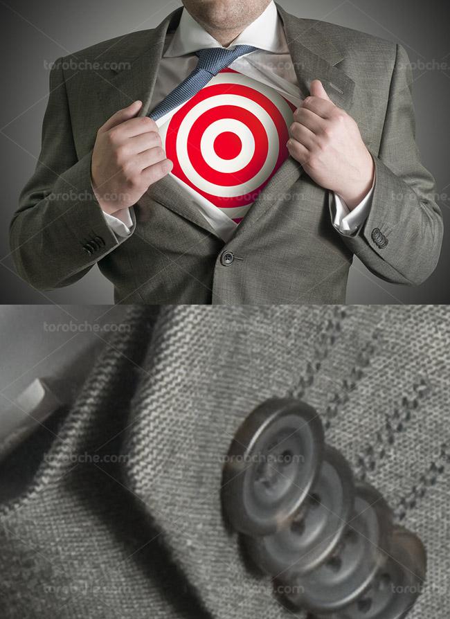 تصویر با کیفیت کسب و کار مفهومی هدف