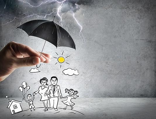 تصویر با کیفیت کسب و کار مفهومی بیمه
