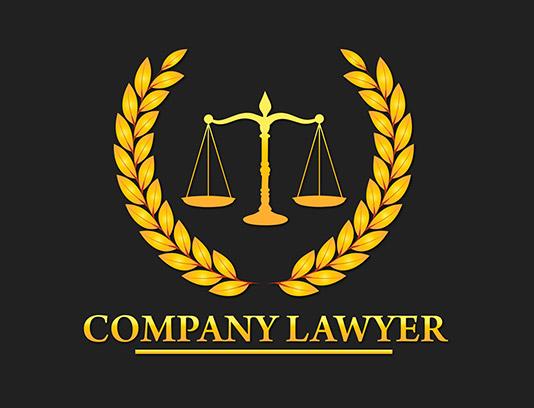وکتور لوگوی شرکت حقوقی
